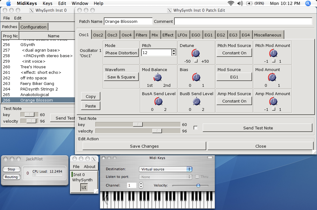 WhySynth Screenshot 2