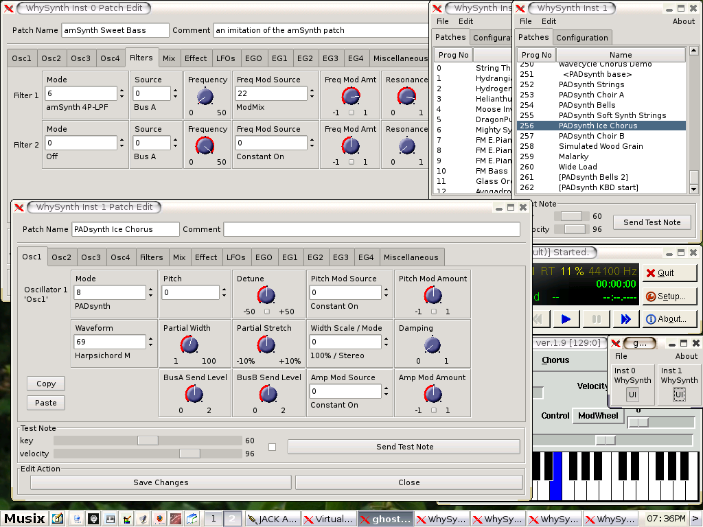 WhySynth Screenshot 1